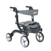 Drive Medical Nitro Euro Style Walker Rollator, Petite, Black DRV RTL10266BK-H