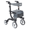 Supreme-lighting-products: Drive Medical - Nitro Euro Style Walker Rollator, Tall, Black