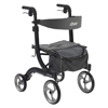 WIN17: Drive Medical - Nitro Euro Style Walker Rollator, Black
