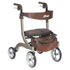 rollers & rollators: Drive Medical - Nitro DLX Euro Style Walker Rollator, Champagne