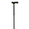 canes & crutches: Drive Medical - Lightweight Adjustable Folding Cane with T Handle, Black