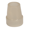 Drive Medical Glow In The Dark Cane Tip, 3/4, Cream, Each DRV RTL10324CRB