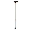Drive Medical Adjustable Lightweight T Handle Cane with Wrist Strap, Little Dots DRV RTL10335LD