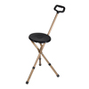 drive medical: Drive Medical - Folding Lightweight Cane Seat, Adjustable Height, Bronze
