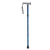Drive Medical Adjustable Lightweight Folding Cane with Gel Hand Grip RTL10370BC