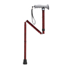 rehabilitation devices: Drive Medical - Adjustable Lightweight Folding Cane with Gel Hand Grip