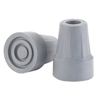 Drive Medical Forearm Crutch Tip 5/8, Gray, Pair DRV RTL10441B