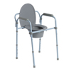 bedpans & commodes: Drive Medical - Steel Folding Frame Commode