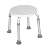 drive medical: Drive Medical - Adjustable Height Bath Stool, White