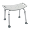 Drive Medical - Bathroom Safety Shower Tub Bench Chair, Gray