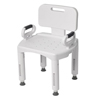 Hypodermic Needles Syringes With Safety: Drive Medical - Premium Series Shower Chair with Back and Arms