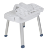 Drive Medical Bathroom Safety Shower Chair with Folding Back DRV RTL12606