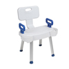 Drive Medical Arms for Shower Chair with Folding Back DRV RTL12606ARMS