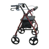 rollers & rollators: Drive Medical - Aluminum Rollator with Removable Wheels, Red