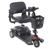Drive Medical Scout DST 3-Wheel Travel Scooter DRV SCOUTDST3