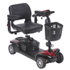 Power Mobility: Drive Medical - Spitfire DST 4-Wheel Travel Scooter