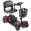 Drive Medical Scout Compact Travel Power Scooter, 4 Wheel, Extended Battery DRV SFSCOUT4-EXT