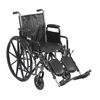 Drive Medical Silver Sport 2 Wheelchair SSP216DDA-ELR