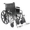 Drive Medical Sentra EC Heavy Duty Wheelchair STD20ECDDAHD-ELR