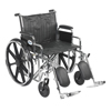 "Rehabilitation: Drive Medical - Sentra EC Heavy Duty Wheelchair, Detachable Desk Arms, Elevating Leg Rests, 22"" Seat"
