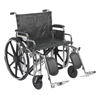 Drive Medical Sentra Extra Heavy Duty Wheelchair STD24DDA-ELR