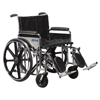 "Rehabilitation: Drive Medical - Sentra Extra Heavy Duty Wheelchair, Detachable Full Arms, Elevating Leg Rests, 24"" Seat"