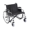 "Rehabilitation: Drive Medical - Sentra EC Heavy Duty Extra Wide Wheelchair, Detachable Desk Arms, 26"" Seat"