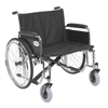 "Rehabilitation: Drive Medical - Sentra EC Heavy Duty Extra Wide Wheelchair, Detachable Full Arms, 26"" Seat"