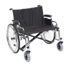 "Rehabilitation: Drive Medical - Sentra EC Heavy Duty Extra Wide Wheelchair, Detachable Desk Arms, 28"" Seat"