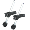 Drive Medical Anti Tippers with Wheels for Cougar Wheelchairs DRV STDS2A4326