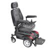 Drive Medical Titan Transportable Front Wheel Power Wheelchair, Full Back Captains Seat, 16 x 18 DRV TITAN1618