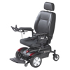 "Power Mobility: Drive Medical - Titan Front Wheel Power Wheelchair, Pan Seat, 18"" x 18"""