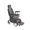 "Power Mobility: Drive Medical - Titan Transportable Front Wheel Power Wheelchair, Full Back Captain's Seat, 20"" x 18"""