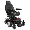 "drive medical: Drive Medical - Titan AXS Mid-Wheel Power Wheelchair, 18""x18"" Captain Seat"