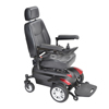 """Power Mobility: Drive Medical - Titan X16 Front Wheel Power Wheelchair, Vented Captain's Seat, 18"""" x 18"""""""