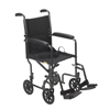 Drive Medical Lightweight Steel Transport Wheelchair TR37E-SV