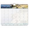 Day Timer Day-Timer® Coastlines® Tabbed Wall Calendar DTM 113521601