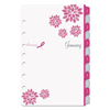Clean and Green: Pink Ribbon Two-Page-per-Week Organizer Refill, 5 1/2 x 8 1/2, 2019
