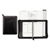 Day Timer Recycled Bonded Leather Starter Set, 5 1/2 x 8 1/2, Black Cover DTM 41745