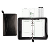 Day Timer Recycled Bonded Leather Starter Set, 8 4/5 x 5 1/2 x 1 1/2, White DTM 41746