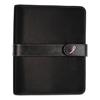 Day Timer Pink Ribbon Loose-Leaf Organizer Set, 5 1/2 x 8 1/2, Black Microfiber Cover DTM 48391