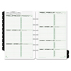 Clean and Green: Dated Two-Page-per-Week Organizer Refill, January-December, 5 1/2 x 8 1/2, 2019