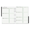 calendars: Dated Two-Page-per-Week Organizer Refill, January-December, 11 x 8 1/2, 2020