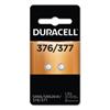 Duracell Duracell® Button Cell Battery, 2 EA/PK DUR D377B2PK