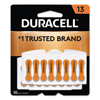 batteries: Duracell® Button Cell Hearing Aid Battery #13