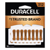 batteries: Duracell® Button Cell Hearing Aid Battery #312