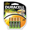 Duracell Duracell® Coppertop® NiMH pre-charged Rechargeable AAA Battery DUR DX2400B4N001