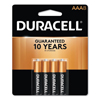 aaa batteries: Duracell® Coppertop® Alkaline Batteries