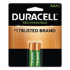Duracell Duracell® Rechargeable NiMH Batteries with Duralock Power Preserve™ Technology DUR NLAAA2BCD