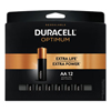 Duracell Duracell® Optimum Alkaline AA Batteries, 12/Pack DUR OPT1500B12PR